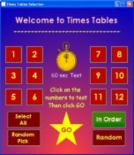 Times Tables small screenshot
