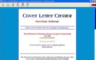 Cover Letter Creator small screenshot