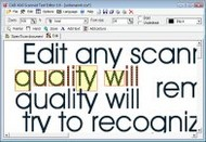 Scanned Text Editor small screenshot