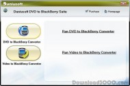 Daniusoft DVD to BlackBerry Suite small screenshot