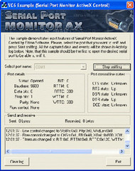 Serial Port Monitor ActiveX small screenshot