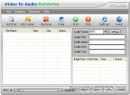 Video to Audio Converter small screenshot