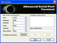Eltima Serial Port Terminal small screenshot