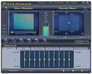 AV Voice Changer Software Diamond Edition small screenshot