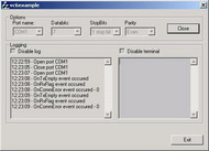 Serial Port ActiveX Control small screenshot