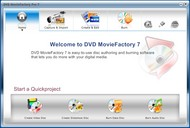Corel DVD MovieFactory Pro small screenshot
