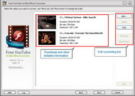 Free YouTube to Mp3/Wma Converter small screenshot