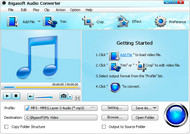 Bigasoft Audio Converter small screenshot