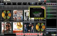 Jukebox Jockey Media Player Home small screenshot