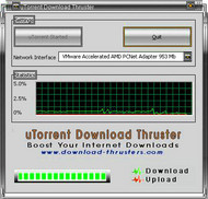 uTorrent Download Thruster small screenshot