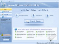 Lenovo Drivers Update Utility small screenshot