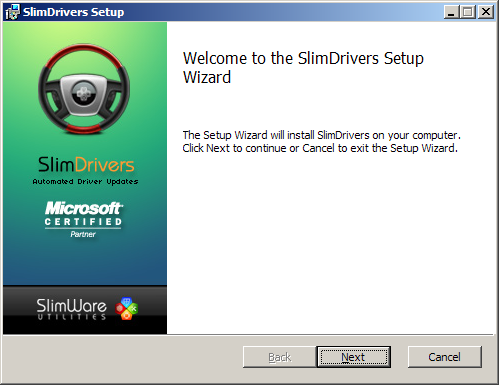 SlimDrivers Free - Free download and software reviews