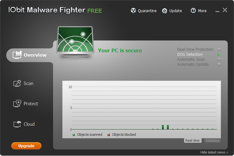 IObit Malware Fighter: Free Spyware Removal Tool