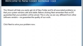 Remove New Folder.exe Virus With Newfolder Removal Tool