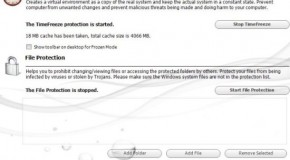 Toolwiz Time Freeze: Free System Protection Software