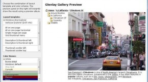 Glenlay Gallery: Free Web Photo Album Generator