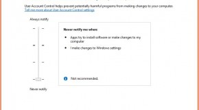 How to Manage User Account Control in Windows 8/8.1?